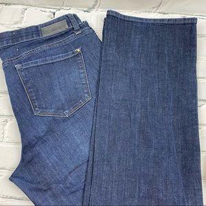 DKNY Mercer slim boot cut jeans